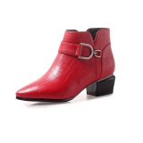 Women's Booties Low Heel