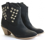 Women's Low Heel Dress Booties
