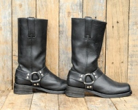 Black Harness Boot