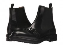 Mens Boots Black Harness