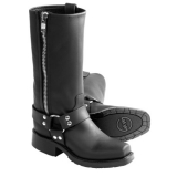 Double H Black Harness Boots for Men