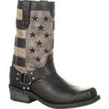 Men's Black Harness Boot