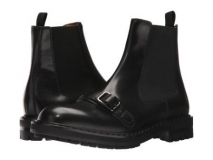 Mens Boots Black Harness
