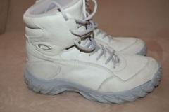 White Oakley Assault Combat Boots
