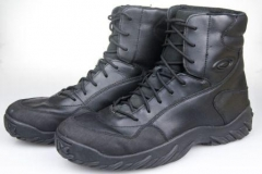Light Leather Oakley Combat Boots