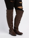 Knee High Boots for Plus Size Calves