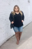 Knee High Boots for Plus Size