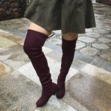 Knee High Plus Size Boots