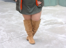 Women's Plus Size Knee High Boots