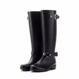 Black Rain Boots for Women