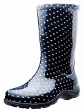 Polka Dot Rain Boots for Women