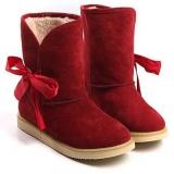 Rd Trim Fur Boots