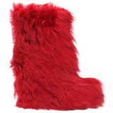Red Fur Boots Cover