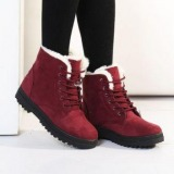 Red fur Lined Boots