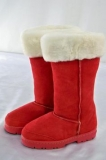 Red Fur Boots Winters