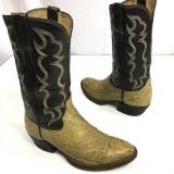 Shark Skin Cowboy Boots