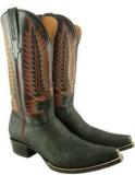 Shark Skin High Boots