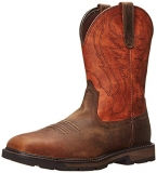 Square Steel Toe Work Boots