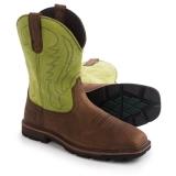 Square Toe Steel Toe Cowboy Boots