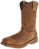 Square Toe Steel Toe Pull On Boots