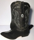 Stingray Skin Leather Boots