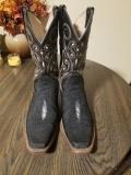 Cowboy Stingray Skin Boots