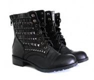 Stud Combat Boots