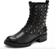 Studded Combat Boots Design
