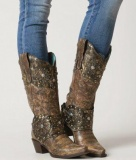 Corral Studded Cowgirl Boots