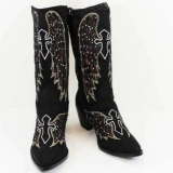 Crystal Studded Cowgirl Boots