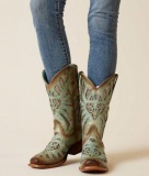 Flat Studded Cowgirl Boots