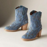 Fyre Studded Cowgirl Boots