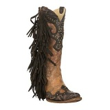 Ladies Studded Cowgirl Boots