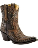 Studded Short Cowgirl Boots