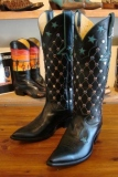 Womens Studded Cowgirl boots