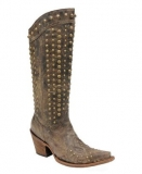 Corral Tall Studded Cowgirl Boots