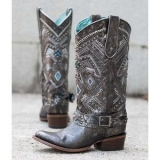 Studded Cowgirl Boots Corral