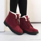 Short Stylish Women's Snow Boots