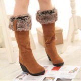 Stylish Womens Winter Warm Snow Boots Shoes