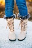 Womens Stylish Snow Boots
