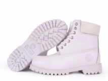 White Timberland Boots for Men
