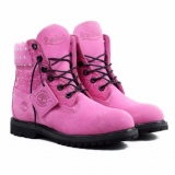 Pink Timberland Boots for Men