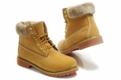 Timberland Boots with Fur for Women
