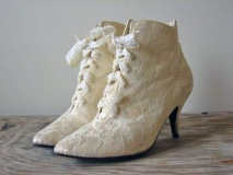 Lace Cowgirl Wedding Boots