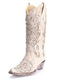 Leather Cowgirl Boots for Wedding