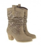 Short Wedding cowgirl boots