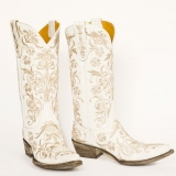 Bridal Wedding Cowgirl Boots