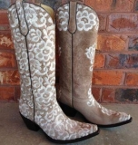 Fancy Wedding Cowgirl Boots