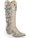Womens Wedding Cowgirl Boots