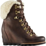 Sorels Wedge Booties with Fur